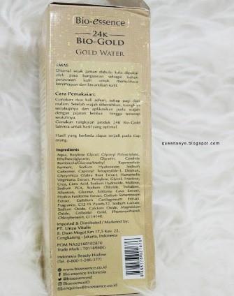 Bio-essence 24K Bio-Gold Gold Water Queen Nobela-6