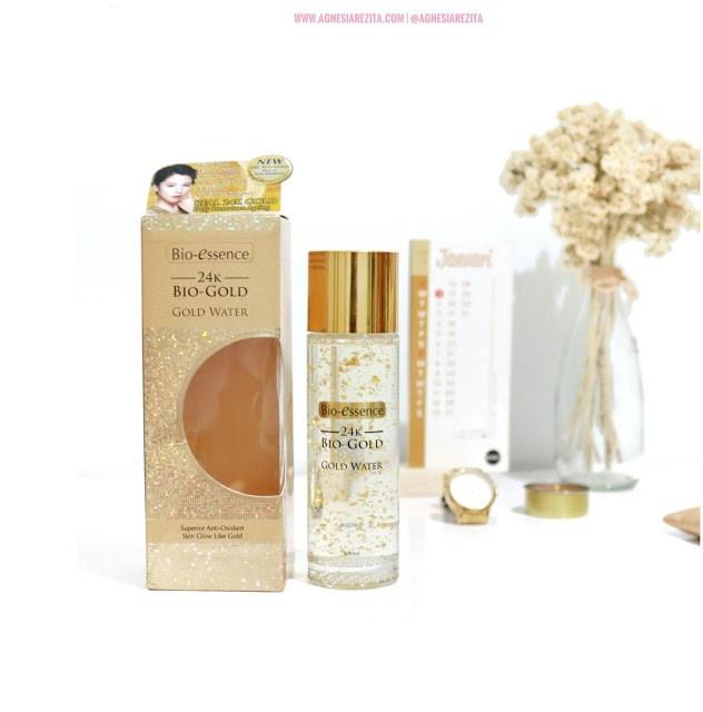 Bio-essence 24k Bio-Gold Gold Water Review Agnesia