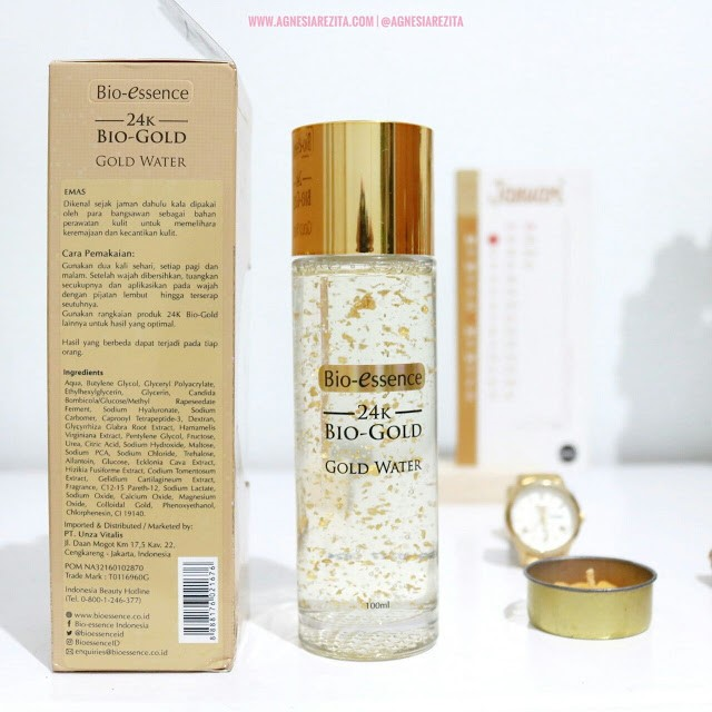 Cara Pakai Bio-Essence Gold Water Review Agnesia