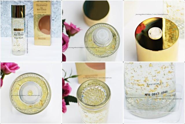 Kemasan 24K Bio-Gold Gold Water Review Lia Melqha-5