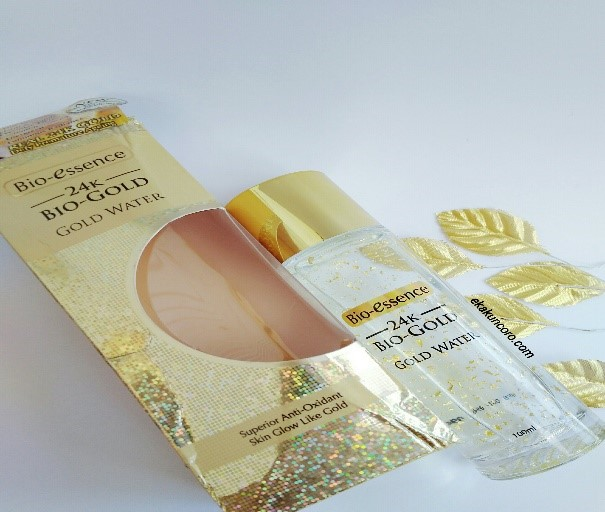 Kemasan BIO-ESSENCE 24K BIO-GOLD GOLD WATER Review Eka-2