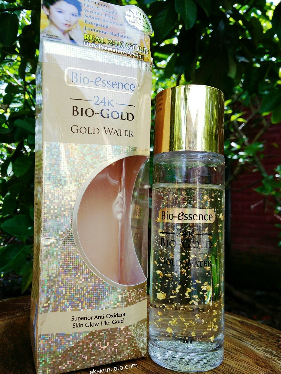 REVIEW BIO-ESSENCE 24K BIO-GOLD GOLD WATER Eka-1