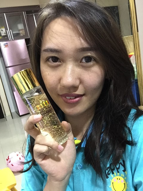 Review Bio-essence 24K Bio-Gold Gold Water Blogger Innova