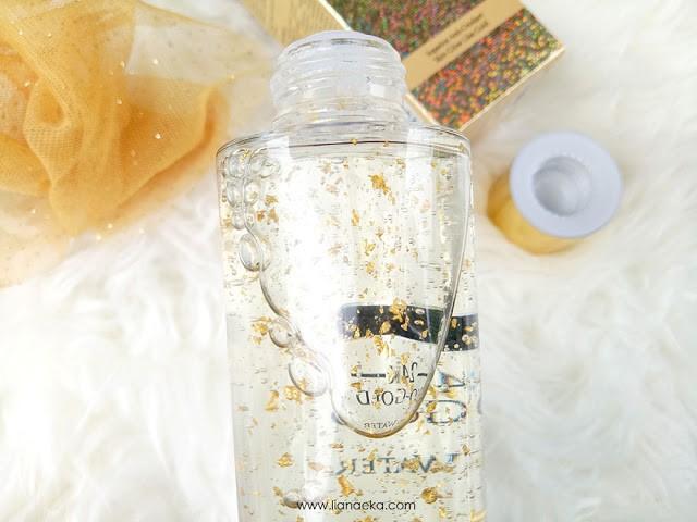 Tekstur Bio-essence 24K Bio-Gold Gold Water Liana Eka-5