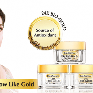 Bio-essence 24K BIO-GOLD GOLD WATER REVIEW dari Arvi