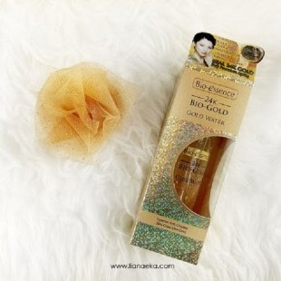 REVIEW BIO-ESSENCE 24K BIO-GOLD GOLD WATER dari Blogger Liana Eka