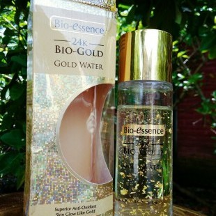 REVIEW: BIO-ESSENCE 24K BIO-GOLD GOLD WATER dari Blogger Eka Kuncoro