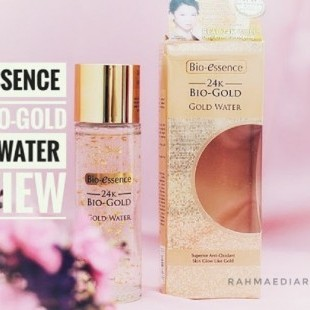 24K BIO-ESSENCE GOLD WATER REVIEW dari Blogger Rahmalia