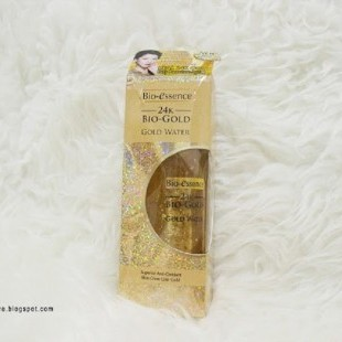 Bio-essence 24K Bio-Gold Gold Water Review dari Blogger Queen Nobela