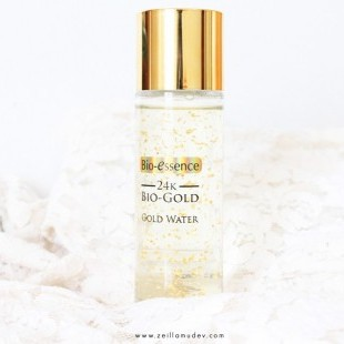 REVIEW BIO-ESSENCE GOLD WATER, ANTI-AGING PEMULA dari Blogger Zeila