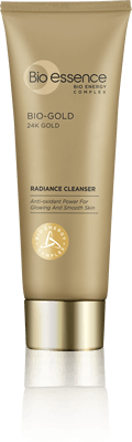 Anti aging Skincare Bio Gold Radiance Cleanser Bio-essence Indonesia