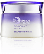 Krim malam skincare Bio Bounce Collagen Night Mask Bio-essence Indonesia