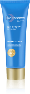 Pembersih kulit & wajah skincare Bio Renew Nourishing Foamy Cleanser Bio-essence Indonesia