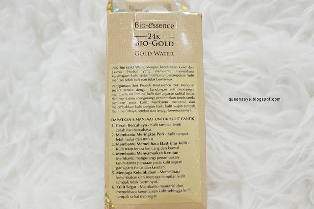 Bio-essence 24K Bio-Gold Gold Water Queen Nobela-5