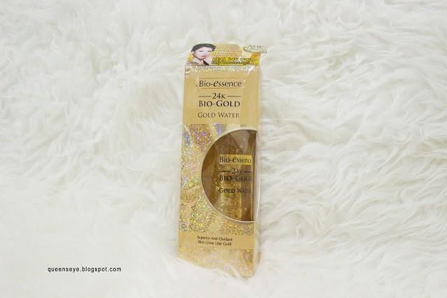 Bio-essence 24K Bio-Gold Gold Water Review Queen Nobela