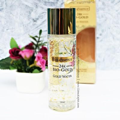 Botol 24K Bio-Gold Gold Water Review Lia Melqha-6