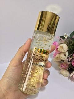 Botol Bio-essence 24K Bio-Gold Gold Water Innova Review Innova-7