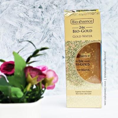 Review 24K Bio-Gold Gold Water dari Blogger Lia Melqha-3