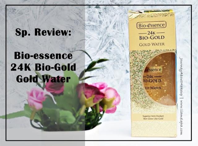 Review 24K Bio-Gold Gold Water dari Blogger Lia Melqha