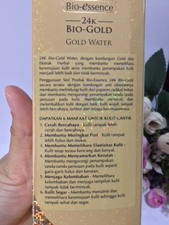 Review Bio-essence 24K Bio-Gold Gold Water Innova-4