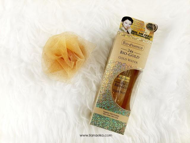Review Bio-essence 24K Bio-Gold Gold Water Liana Eka