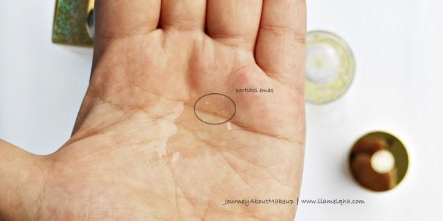 Tekstur 24K Bio-Gold Gold Water Review Lia Melqha-7